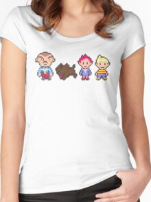 Earthbound Mother 3 Print Women's Fitted Scoop T-Shirt