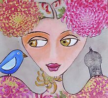 A little bird on my shoulder by shelley mcdonald