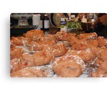 Baker's Delight - Barbados Sweet Bread loafing around Canvas Print
