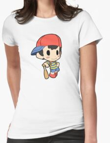 Super Smash Bros. / Earthbound - Ness Womens Fitted T-Shirt