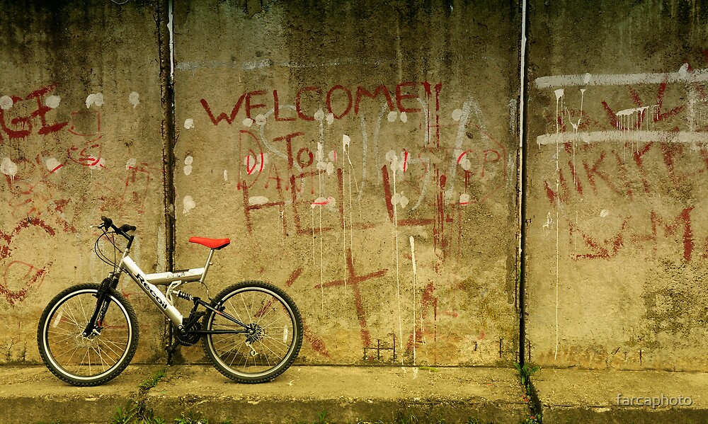 Welcome to hell by farcaphoto