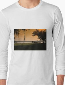 plants and tropical landscape Long Sleeve T-Shirt