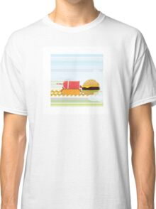 Fast Food Train Classic T-Shirt