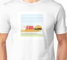 Fast Food Train Unisex T-Shirt