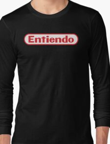 Entiendo Long Sleeve T-Shirt