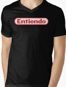 Entiendo Mens V-Neck T-Shirt