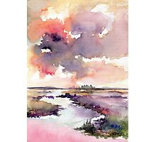 The Dutch Nature - in Aquarel Photographic Print