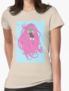 Mag and Her Hair Womens Fitted T-Shirt