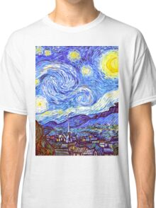 The Starry Night HDR Classic T-Shirt