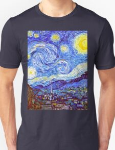 The Starry Night HDR Unisex T-Shirt