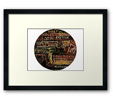 DRUGS AND ROCK N ROLL Framed Print