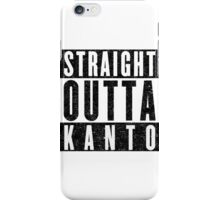Trainer with Attitude: Kanto iPhone Case/Skin