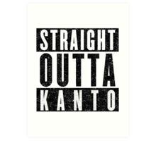 Trainer with Attitude: Kanto Art Print