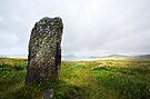 Clach Steineagaidh Standing Stone by David Robinson