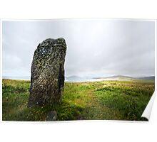Clach Steineagaidh Standing Stone Poster