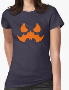 Scarecrow's Bat-Signal Womens Fitted T-Shirt