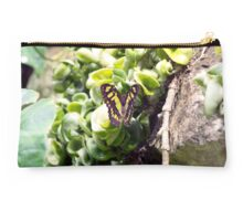 Butterfly Green Machine Studio Pouch