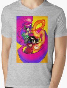 2 Little Bastards - Mag and Spike Mens V-Neck T-Shirt