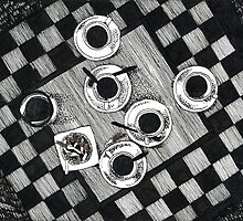Coffee and Cigarettes by Aleksandra Kabakova