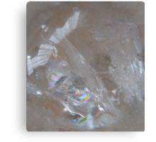 Amazing figure in clear quartz Canvas Print