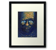 The Sad Man Framed Print
