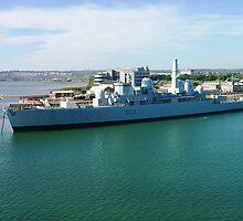 HMS Bristol by Paul Dean