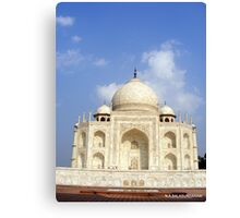 Taj Mahal - Agra - INDIA   Canvas Print