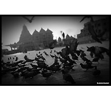 Crowded Photographic Print