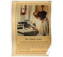 Advertisements Photoplay Magazine April through September 1918  0260 Kodak Poster
