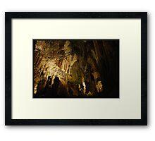 Alien's lair Framed Print