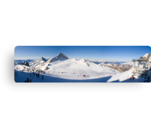 Tux Ski Area Canvas Print