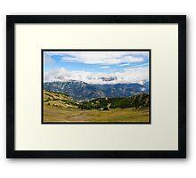 Pra loup in Alps Framed Print