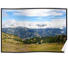 Pra loup in Alps Poster