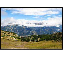 Pra loup in Alps Photographic Print