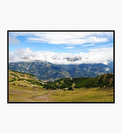 Pra loup in Alps Photographic Print