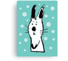 Snow Rabbit Canvas Print