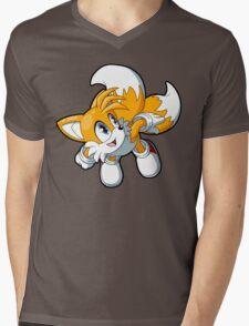 Sonic the Hedgehog - Tails Mens V-Neck T-Shirt
