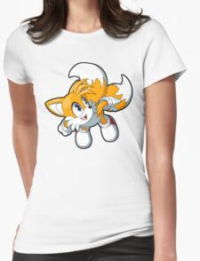 Sonic the Hedgehog - Tails Womens Fitted T-Shirt