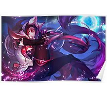 Ahri Challenger League Of Legend Poster