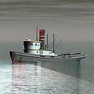 Tug Boat 3D by Hugh Fathers