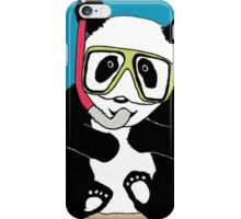 Snorkel Panda iPhone Case/Skin
