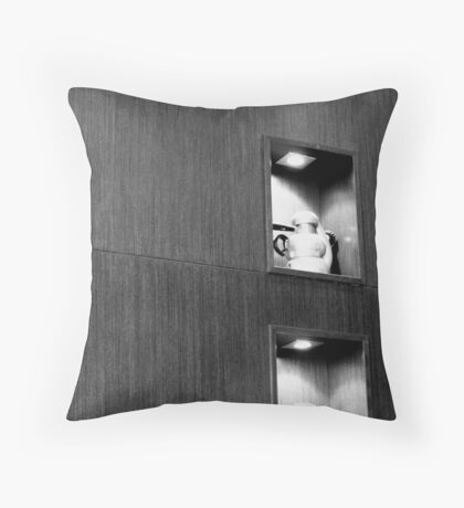 Homage to coffee! Throw Pillow