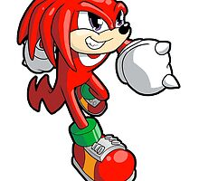 Sonic the Hedgehog - Knuckles by 57MEDIA