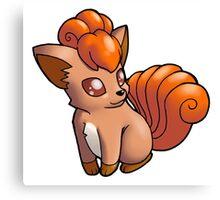 Pokemon - Vulpix Canvas Print