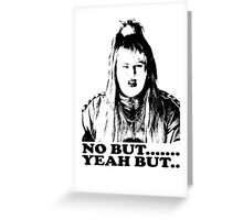Vicky Pollard, No But, Yeah But, Little Britain T-shirt Greeting Card
