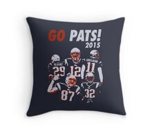 New England Patriots - 2015 Throw Pillow