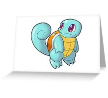 Pokemon - Squirtle Greeting Card