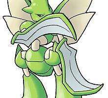 Pokemon - Scyther by 57MEDIA