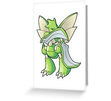 Pokemon - Scyther Greeting Card