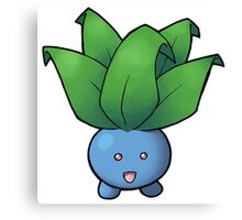 Pokemon - Oddish Canvas Print